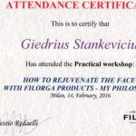 Filorga-certificate-Giedrius-Stankevicius